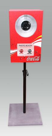We can add corporate branding to our photo booths and strips