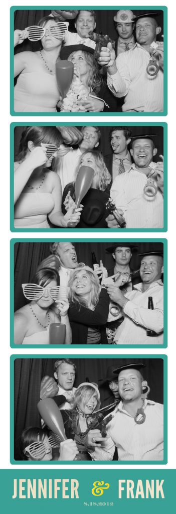 Black & White Photo Booth Strip